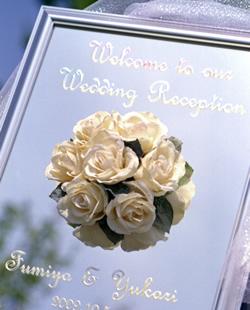 結婚式にはウエルカムボード